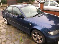 BMW 316i 3 series Blue 2004