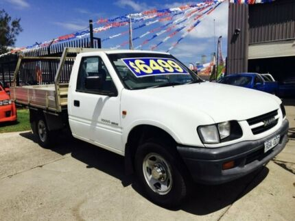 2002 Holden Rodeo TFR9 MY02 LX 5 Speed Manual Cab Chassis Brooklyn Brimbank Area Preview
