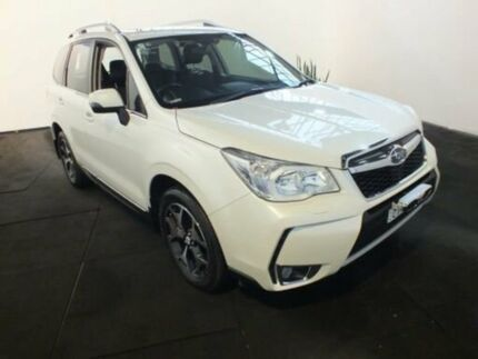 2015 Subaru Forester MY14 2.5I-S White Continuous Variable Wagon