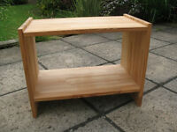 Small Timber TV/Media Stand