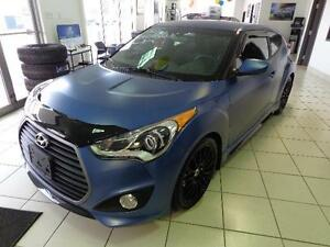 2016 Hyundai Veloster Turbo w/Blue Colour Pack Ralley Edition