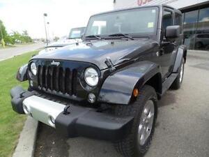2014 Jeep Wrangler Sahara $0 Down Financing!!!