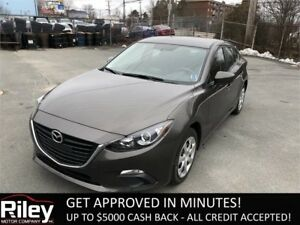 2016 Mazda Mazda3 GXSTARTING AT $139.41 BI-WEEKLY