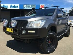 2016 Holden Colorado RG MY16 LS (4x4) Grey 6 Speed Automatic Crew Cab Chassis Blacktown Blacktown Area Preview