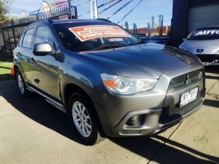 2011 Mitsubishi ASX XA MY12 (4WD) Continuous Variable Wagon
