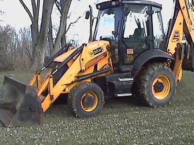 Lk 2009 Jcb 3cx14 Backhoe 4x4 Ex-hoe Super Clean