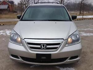 2007 Honda Odyssey LX,7 PASS,PW,PL,AC,CERTIFIED AND E-TEST