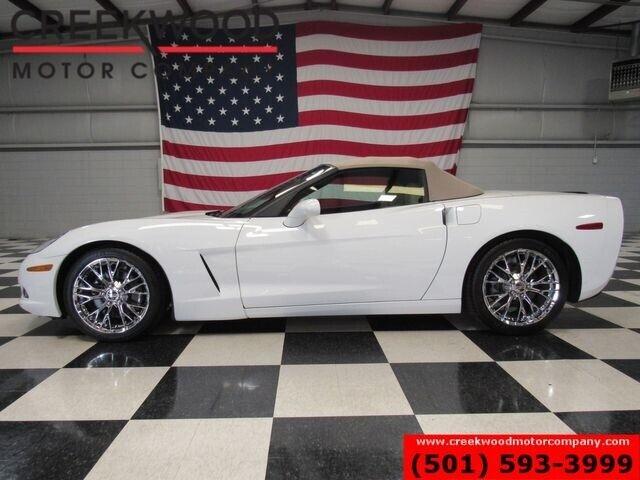 2012 White Chevrolet Corvette Convertible 3LT   C6 Corvette Photo 6