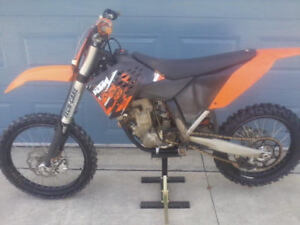 2009 ktm 250sxf just sitting in shop 3500