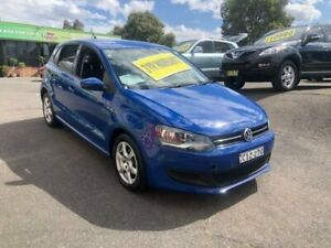 2012 Volkswagen Polo 6R MY12.5 77TSI DSG Comfortline Blue 7 Speed Sports Automatic Dual Clutch Lidcombe Auburn Area Preview