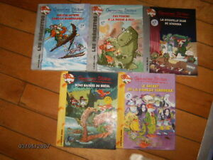 8 livres de GERONIMO STILTON