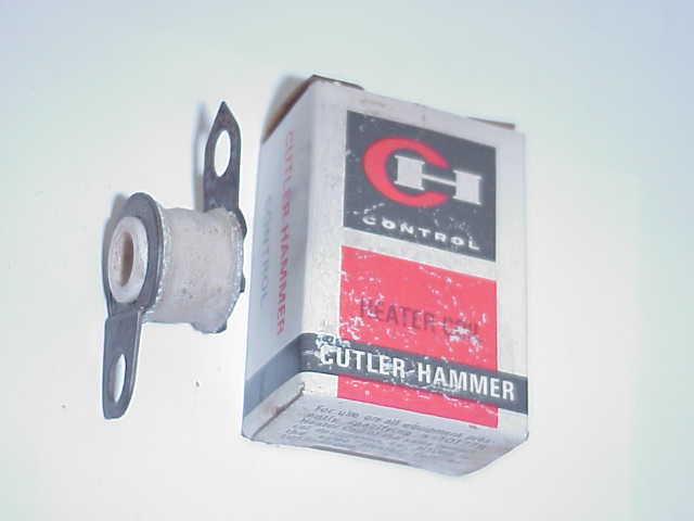 1 CUTLER HAMMER H1012 MOTOR STARTER THERMAL UNIT / OVERLOAD HEATER- OLD STOCK