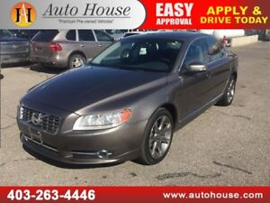 2011 Volvo S80 T6 AWD LEATHER ROOF