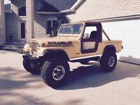 1982 Jeep Scramber CJ8