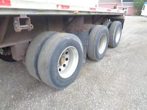2000 FONTAINE 48 TRIDEM COMBO FLAT BED TRAILER Kitchener / Waterloo Kitchener Area image 12