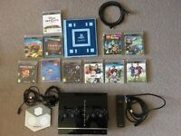 PS3 + controllers + PS3 Eye + 11 Games + Remote Control + Infinity Characters