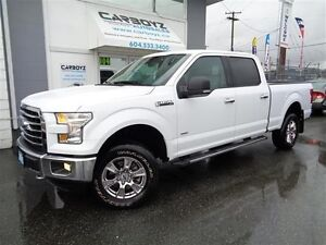 2015 Ford F-150 XLT FX4 Crew, Nav, 3.5L EcoBoost, Max Trailer To