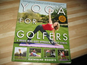Yoga For Golfers book  by Katherine Roberts