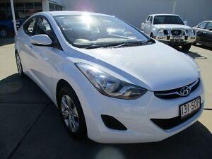 2012 Hyundai Elantra Creamy White Auto Seq Sportshift Ayr Burdekin Area Preview