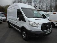 Ford Transit T350 125PS LWB HIGH ROOF DIESEL MANUAL WHITE (2015)