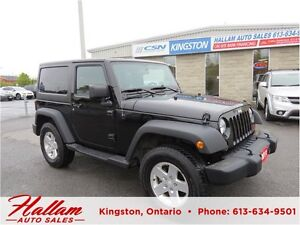 2011 Jeep Wrangler Sport, Bimini top, Mint Condition, Hitch