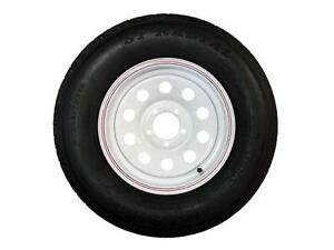NEW TRAILER TIRES AND WHEELS 14 INCH RADIAL ST205/75/R14