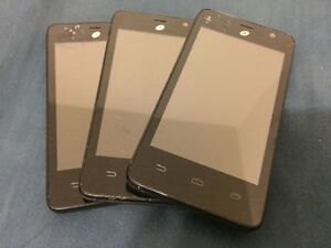 (3) Android Smartphones 4 inch Screen