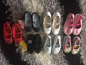 Girl shoes btw size 7 and 10 - $8 each