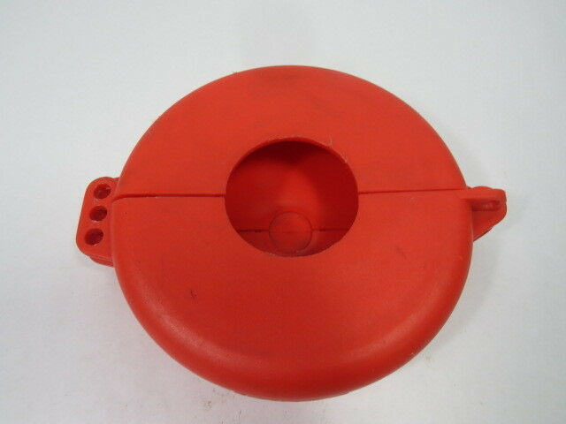 "North VS06R Red Lockout for Wheel Valve for Size 5-6-1/2""  USED"
