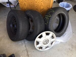 Tires and Rims - VW