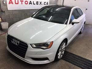 2015 Audi A3 TOIT PANORAMIQUE MAGS 18""