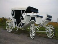 wedding carriages NEW made to order ROBERTs