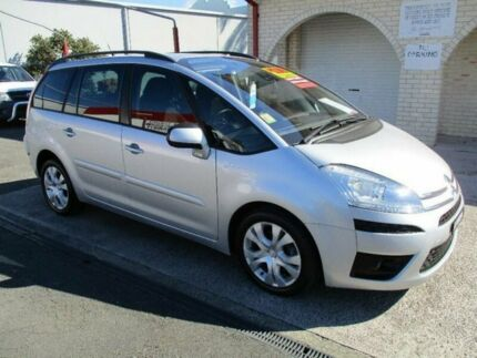 2012 Citroen C4 Picasso MY12 HDi Silver 6 Speed Automated Manual Wagon