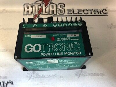 Go 515100 Power Line Monitor 480v Gotronic