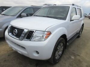 2012 Nissan Pathfinder 4WD 1 Owner no Accidents Alberta vehicle!