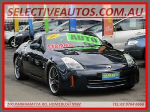 2007 Nissan 350Z Z33 MY07 Roadster Touring Blue 5 Speed Automatic Convertible Homebush Strathfield Area Preview