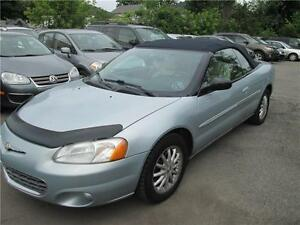 chrysler sebring limited convertible 2002 auto full load warr