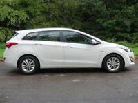 HYUNDAI I30 1.6 CRDI ACTIVE BLUE DRIVE 5d 109 BHP (white) 2013