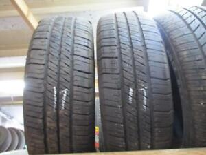 185/60R15 2 ONLYUSED GOODYEAR A/S TIRE