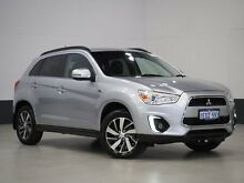 2014 Mitsubishi ASX XB MY15 LS (2WD) Silver Continuous Variable Wagon Bentley Canning Area Preview