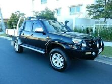 2010 Ford Ranger PK XLT Crew Cab Black 5 Speed Manual Utility Redcliffe Redcliffe Area Preview