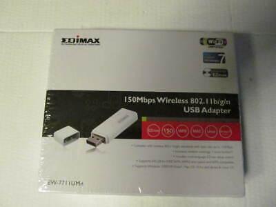 Edimax Wireless 150Mbps 802.11b/g/n mini-size USB adapter EW-7711UMN inc VAT comprar usado  Enviando para Brazil