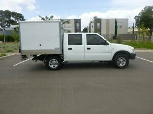 2002 Holden Rodeo TF MY02 LX Crew Cab 4x2 White 5 Speed Manual Utility Beverley Charles Sturt Area Preview