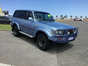 1996 Toyota Landcruiser GXL (4x4) Blue Marlin 4 Speed Automatic 4x4 Wagon