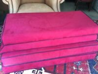 Fabric Upholstered Sitting / Praying / Prayer Benches