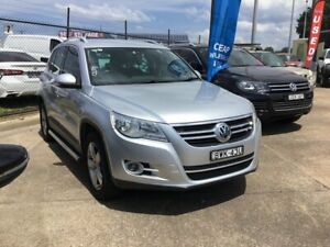 2011 Volkswagen Tiguan 5N MY11 147TSI DSG 4MOTION Silver 7 Speed Sports Automatic Dual Clutch Wagon Wickham Newcastle Area Preview