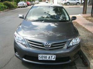 2012 Toyota Corolla ZRE152R MY11 Ascent Obsidian Black Pearl 4 Speed Automatic Sedan Prospect Prospect Area Preview