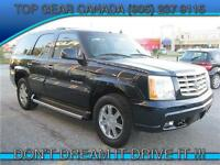 2006 Cadillac Escalade / LEATHER SUNROOF / ONLY 141km
