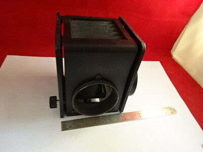 Nikon Japan Plastic Housing Illuminator Empty Lamp Microscope Part As Is 4b-a-13