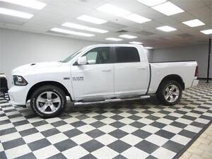 2014 RAM 1500 SPORT CREW 4X4 - REMOTE START**LEATHER**NAV